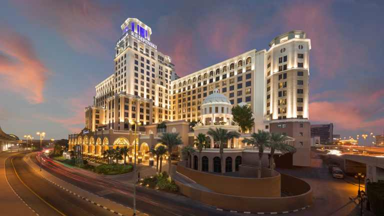 Kempinski Hotel Mall of the Emirates - Evening Exterior